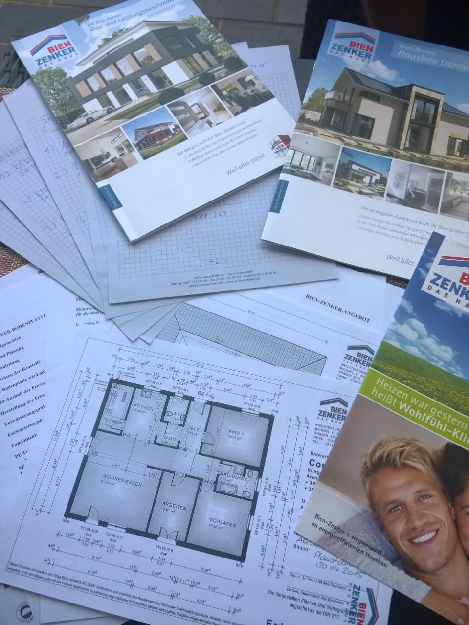 ^ Die Hausbauer´le Unser raumhaus – Bautagebuch Seite 2